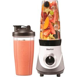 300 Watt Plastic White and Black Personal Blender thumb