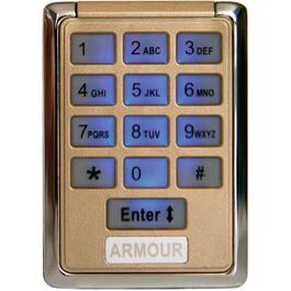Universal Pin Code Garage Door Remote thumb