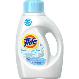 1.09L 2 Times High Efficiency Free and Gentle Scent Laundry Detergent thumb