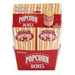10 Pack Popup Popcorn Boxes thumb