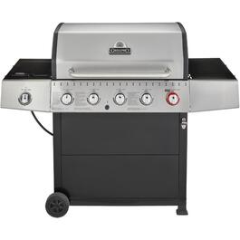 3 Burner + 1 Side Burner + 1 Sear Burner 805 sq. in. 52,000BTU Propane Barbecue Cart thumb