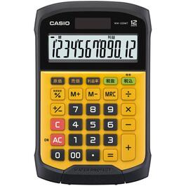 12 Digit Water and Dust Resistant Handheld Calculator thumb