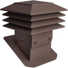 "12"" x 12"" Brown Weatherpro Pivot Roof Vent thumb"