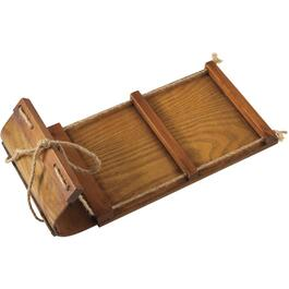 "12"" Wood Decor Toboggan thumb"