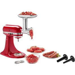 Coarse, Medium and Fine Food Grinder Attachment for Stand Mixer thumb