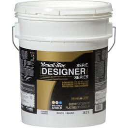 18.2L Suede Finish White Exterior Latex Paint thumb