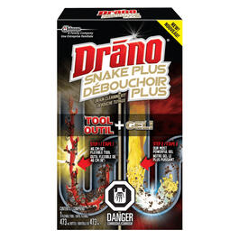 Drano Drain Cleaner with Snake Drain Tool thumb