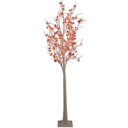 "72"" Outdoor Birch Twig Tree, with 120 LED Lights thumb"