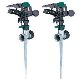 2 Pack Pulsating Spike Sprinklers thumb