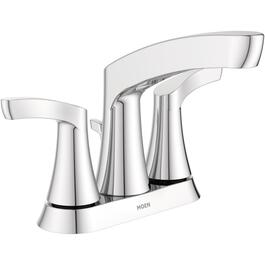 Danika 3 Hole Chrome 2 Lever Handle Lavatory Faucet thumb