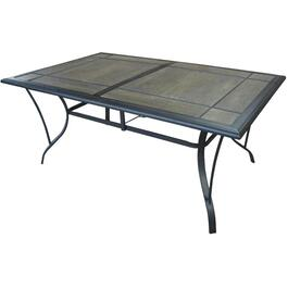"67"" x 41"" Pacifica Rectangular Tile Dining Table thumb"