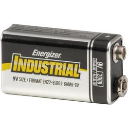12 Pack Industrial Alkaline 9 Volt Batteries thumb