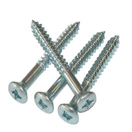 "24 Pack 1"" Silver Trim Screws thumb"