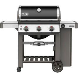 Genesis II E-310 3 Burner 669 sq. in. 39,000BTU Black Natural Gas Barbecue thumb