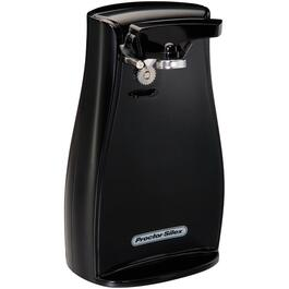 Black Countertop Tall Can Opener, with Knife Sharpener thumb