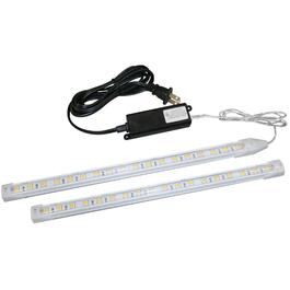 2 Light Warm White LED Strip Fixture Kit thumb