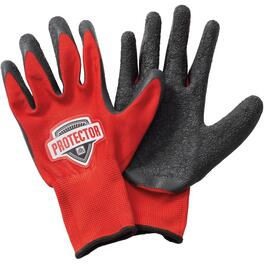 Extra Large Latex Coated Polyester Work Gloves thumb