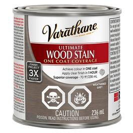 236mL Varathane Ultimate Weathered Grey Alkyd Wood Stain thumb