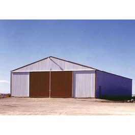 48' x 72' x 16' Post Frame Farm Building Package thumb