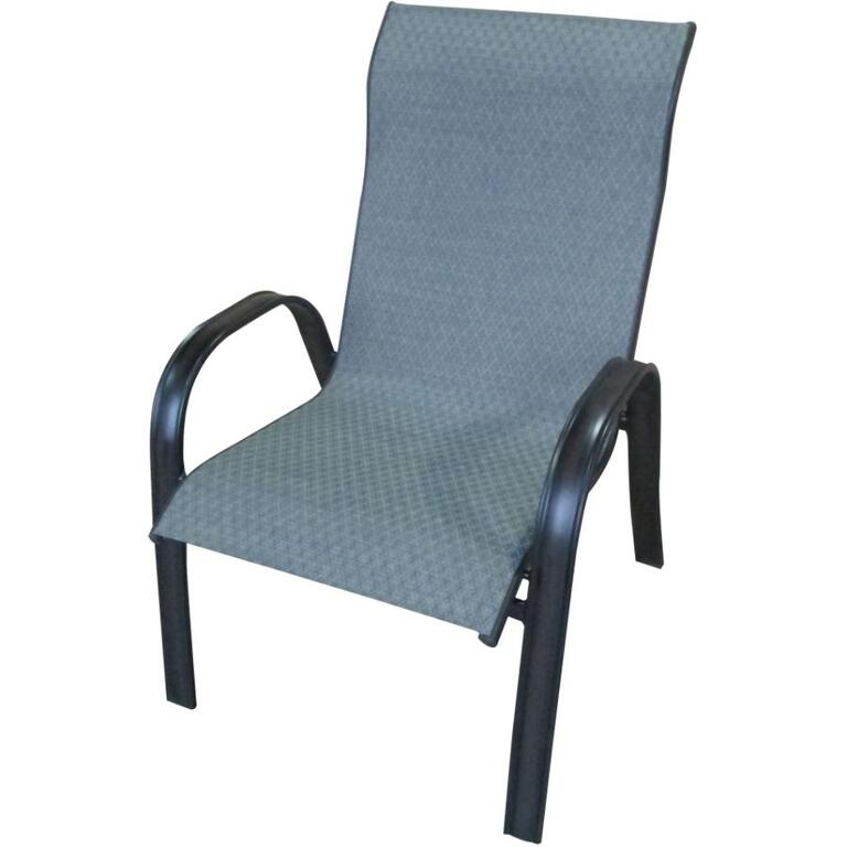 INSTYLE OUTDOOR:Pacifica High Back Sling Dining Chair