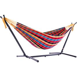 Free Standing Double Hammock, with Bag thumb
