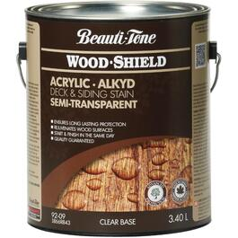 3.40L Semi Transparent Clear Base Alkyd Acrylic Wood Stain thumb