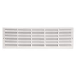 "8"" x 30"" White Sidewall Grille thumb"
