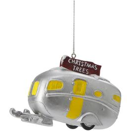 Vintage Beetle Van/Trailer Ornament, Assorted Styles thumb