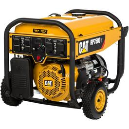 7,500 Watt Portable Gas Generator, with Electric Start thumb