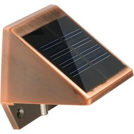 Solar Copper Wedge Light thumb