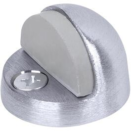 Satin Chrome High Profile Domed Door Stop thumb