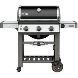 E310 Genesis II 3 Burner 669 sq. in. 37,500BTU Black Natural Gas Barbecue thumb