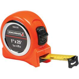 "1"" x 25' High Visibility Orange Tape Measure thumb"