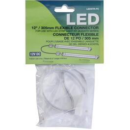"12"" Flexible Connector for Linking LED Strip Fixtures thumb"