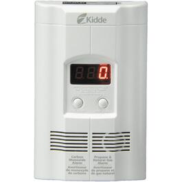 Plug-In Carbon Monoxide, Propane and Natural Gas Detector, with Battery Back-Up thumb