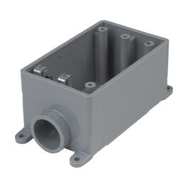 "3/4"" FSE PVC Single Gang Box thumb"