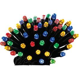 96 LED Multi Colour Battery Operated 8 Function Rice Light Set thumb
