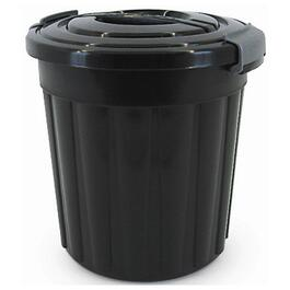 24L Charcoal Maxi Garbage Can, with Lid thumb