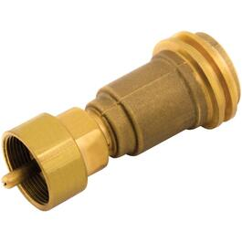 BBQ Adapter, for 1 Pound Liquid Propane Brass Cylinder thumb