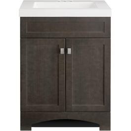 "24"" x 18"" Davison 2 Door Brown Vanity thumb"