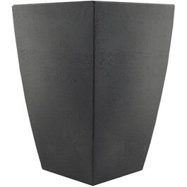 "19"" Slate Square Tall Modern Poly Planter thumb"
