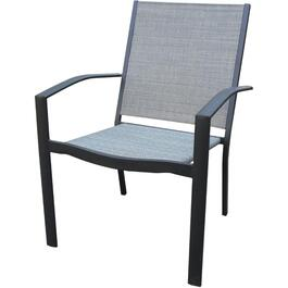Extra Wide Grande Stacking Sling Dining Chair thumb
