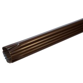 "2"" x 3"" x 10' Brown Aluminum Gutter Downpipe thumb"