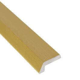 "1/8"" x 6' Hammered Gold Aluminum Tile Edging thumb"