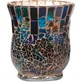 12 Ounce Blue Mosaic Citronella Candle thumb