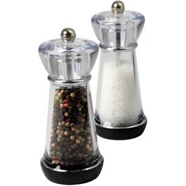 "6"" Acrylic Salt and Pepper Mill Set thumb"