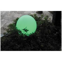 Waterproof Colour-Changing 20cm Floating Ball LED Light thumb