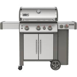 Genesis II S-335 3 Burner + Side Burner 669 sq. in. 39,000BTU Stainless Steel Natural Gas Barbecue thumb