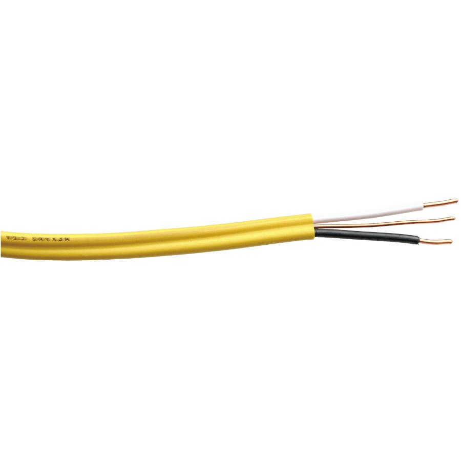 20m Yellow 12 2 Nmd 90 Solid Copper Wire Home Hardware Wiring Devices 10m