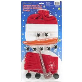 14 Piece Snowman Dress Up Kit thumb